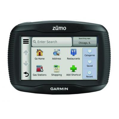 Garmin navigatie: zumo 390LM - Zwart