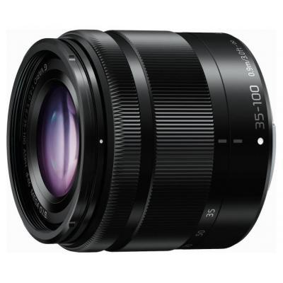 Panasonic LUMIX G Vario 35-100mm F4.0-F5.6 Asph. MEGA OIS Camera lens - Zwart