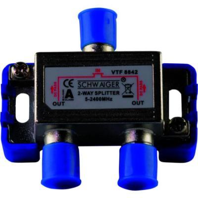 Schwaiger VTF8842241 kabel splitter of combiner