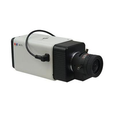 "Acti beveiligingscamera: 1/1.8"" CMOS, 2592x1944px, Ethernet, PoE, 12.95W, 125x62x58mm, 360g, Black/White - Zwart, Wit"