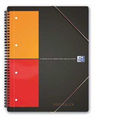 Elba schrijfblok: Meetingbook - Oranje