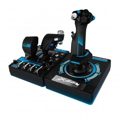Logitech game controller: X-56 Rhino - Zwart