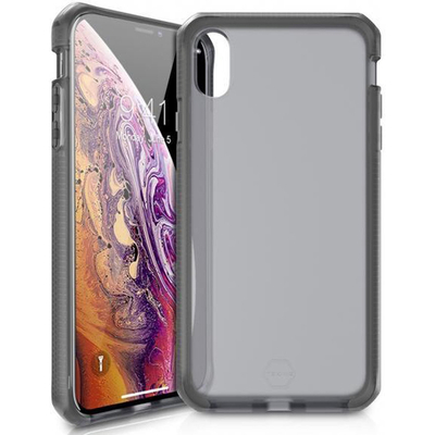 ITSKINS Supreme Frost Backcover iPhone Xr - Zwart / Grijs - Grijs / Grey Mobile phone case