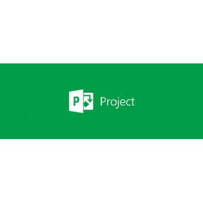 Microsoft software licentie: Project Online Professional