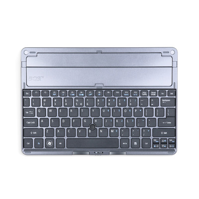 Acer Keyboard Docking Station QWERTY US International for Iconia Tab W500 mobile device dock station - Zilver