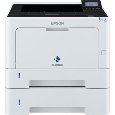 Epson WorkForce AL-M320DTN Laserprinter - Zwart,Wit
