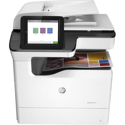 HP multifunctional: PageWide 779dn - Zwart, Cyaan, Magenta, Geel