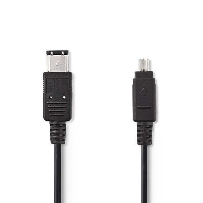 Nedis CCGP62100BK20 Fireware kabel - Zwart