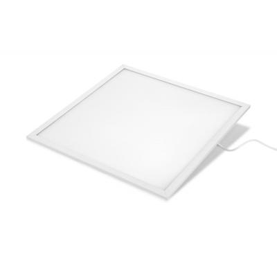 Verbatim plafondverlichting: LED Panel 45W 4000K 3800lm 600x600 PRISMATIC Polycarbonate Diffuser (UGR - Wit