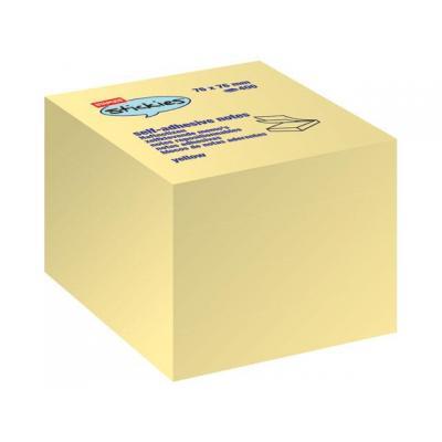 Staples zelfklevend notitiepapier: Notitieblok SPLS 76x76 gl 7172944/bl400v