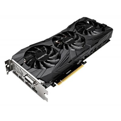 Gigabyte videokaart: GeForce GTX 1080 Ti Gaming OC BLACK 11G - Zwart