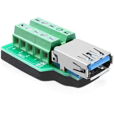DeLOCK 65370 kabeladapters/verloopstukjes