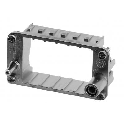 Amphenol Frame for 3-socket modules Multipolaire connector-behuizing - Metallic