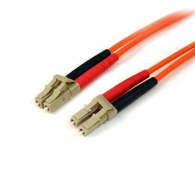 StarTech.com 10m Multimode 50/125 Duplex Glasvezel Netwerkkabel LC-LC Fiber optic kabel