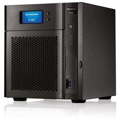 Lenovo TotalStorage Series EMC PX4-400D NAS - Zwart