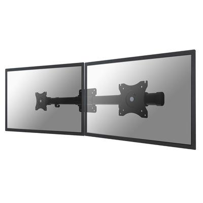 Neomounts by Newstar dual crossbar Monitorarm - Zwart
