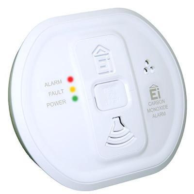 Ei electronics : Ei208W Koolmonoxidemelder voor 10 jaar zorgeloze veiligheid - Wit