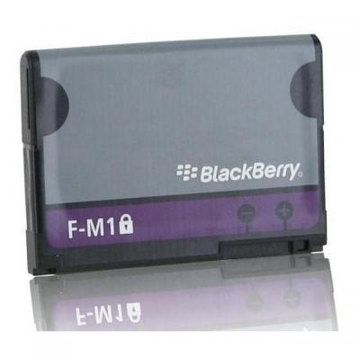 Blackberry batterij: Extra Battery - Zwart, Grijs
