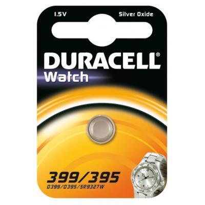 Duracell batterij: 399/395 - Zilver