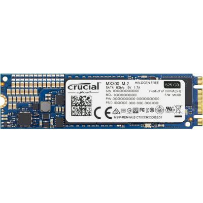 Crucial SSD: MX300 - Blauw
