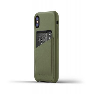 Mujjo mobile phone case: CS-092-OL - Olijf