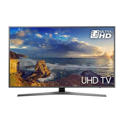 Samsung led-tv: UE55MU6470 - Zwart, Titanium