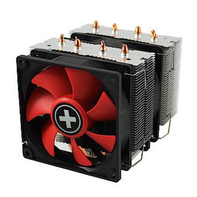 Xilence XC044 Hardware koeling - Zwart, Rood