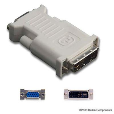 Belkin DVI/VGA, M/F Kabel adapter - Grijs