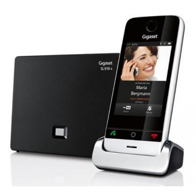 Gigaset SL910A dect telefoon - Zwart, Zilver
