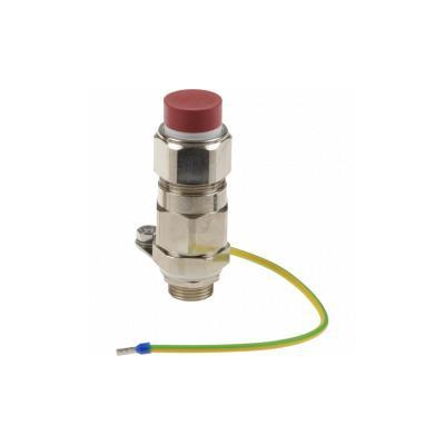 Axis Ex e Cable Gland M20 Armored Kabelwartel - Metallic