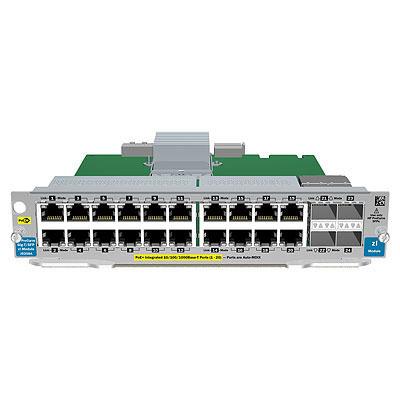 Hewlett Packard Enterprise 20-port Gig-T PoE+ / 2-port 10GbE SFP+ v2 Netwerk switch module