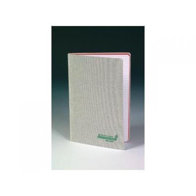 Aurora register: Notitieboek 96bl 125x195 linn.