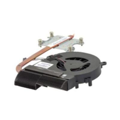Hp notebook reserve-onderdeel: Thermal Module - Zwart, Copper, Metallic