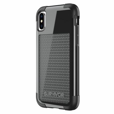 Griffin Survivor Fit Mobile phone case - Zwart