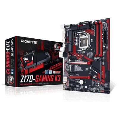 Gigabyte moederbord: GA-Z170-Gaming K3 (rev. 1.0)