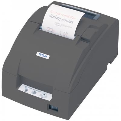 Epson TM-U220B Pos bonprinter - Zwart