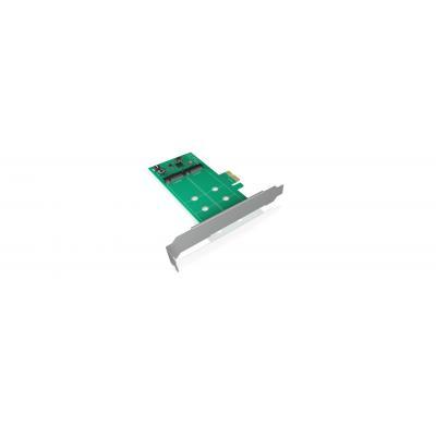 ICY BOX IB-PCI210 Interfaceadapter - Groen