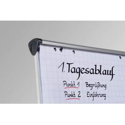 Legamaster Flipchart paper pad grid, 98 x 65 cm, 80 gsm, 5 pcs Board accessorie - Wit