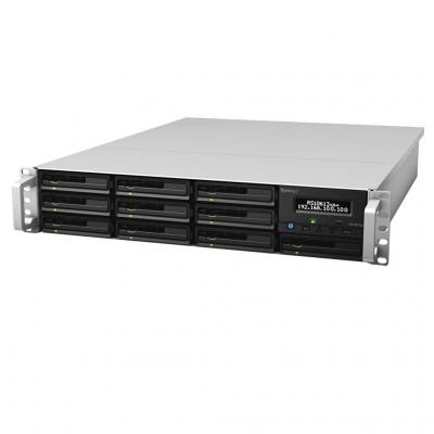Synology NAS: Rackstation RS10613XS+ - Zwart, Zilver