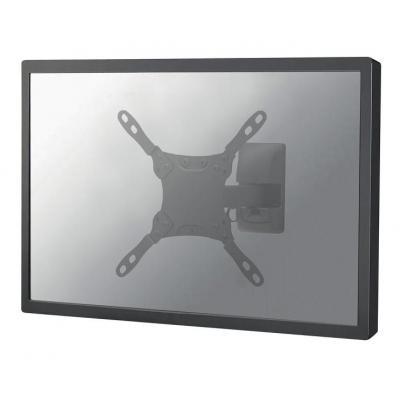 """Newstar montagehaak: TV/Monitor Wall Mount (2 pivots & tiltable) for 10""""-32"""" Screen - Black - Zwart"""