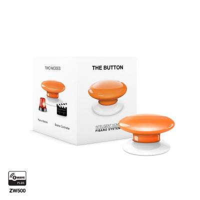 Fibaro : The Button - Oranje, Wit