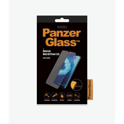 PanzerGlass Motorola Moto G8 Power Lite Edge-to-Edge Screen protector - Transparant
