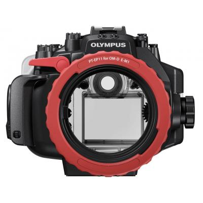 Olympus camera accessoire: PT-EP11 - Zwart, Rood