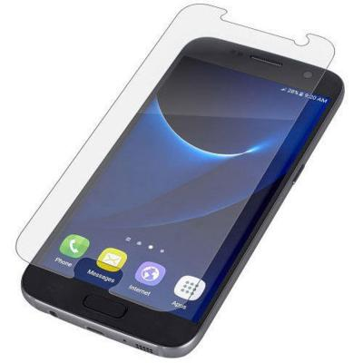 Zagg screen protector: InvisibleShield HD Dry for Samsung Galaxy S7 - Transparant