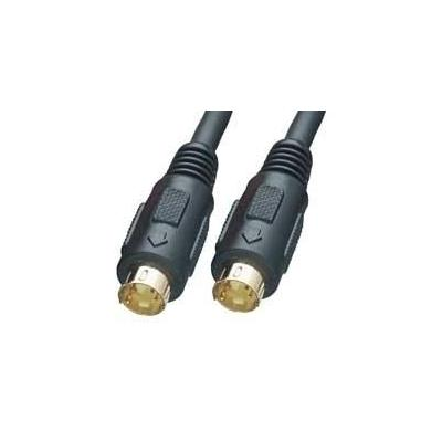 Lindy : S-VHS Cable, 5m - Zwart