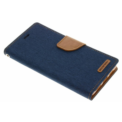 Canvas Diary Booktype Huawei P9 Lite - Blauw Mobile phone case