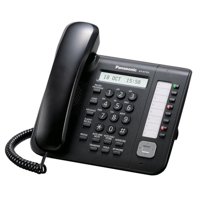Panasonic KX-NT551 IP telefoon - Zwart