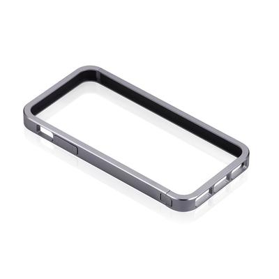 JustMobile AluFrame Mobile phone case - Grijs
