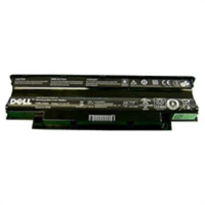Dell notebook reserve-onderdeel: Battery 6 Cell  - Zwart