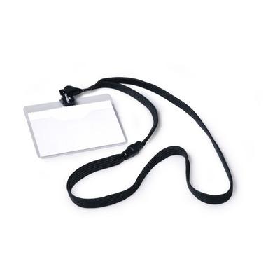Durable NULL Badge - Zwart, Transparant